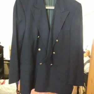 Burberry Navy Blue sports blazer
